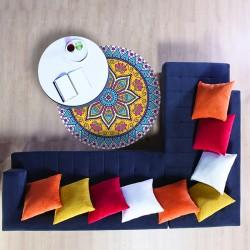 Tapis vinyle mandala Oaxaca