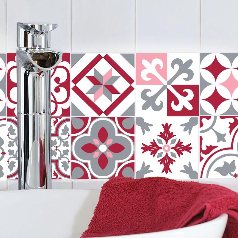 sticker0007rougerose. Black Bedroom Furniture Sets. Home Design Ideas