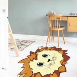Tapis Vinyle Roi de la Jungle