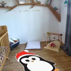 Tapis Vinyle Pingouin