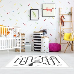 tapis vinyle pour enfants haute r sistance et facile d 39 entretien by home d co. Black Bedroom Furniture Sets. Home Design Ideas