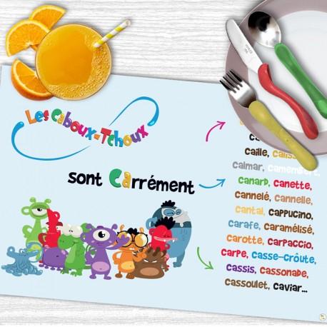 """Set de table LCT Les """"CA"""""""