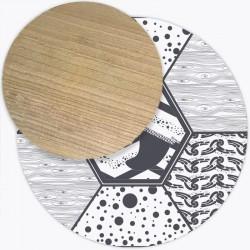 Tapis Vinyle Andalouz Surfing Grey