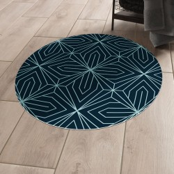 Tapis vinyle rond Houston