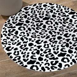 Tapis vinyle rond Oakland