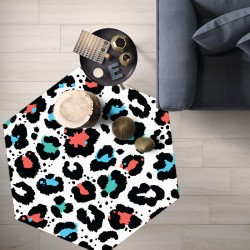 Tapis vinyle hexagonal Wichita
