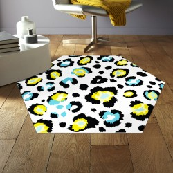 Tapis vinyle hexagonal Arlington