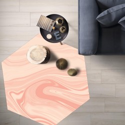 Tapis vinyle hexagonal Honolulu
