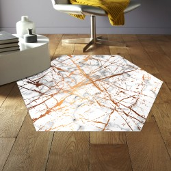 Tapis vinyle hexagonal Corpus Christi