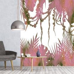Papier peint adhésif panoramique Feuillage Liane