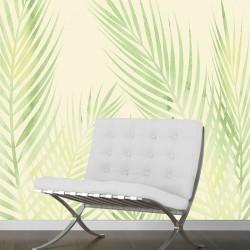 Papier peint adhésif panoramique Feuilles de Palmier