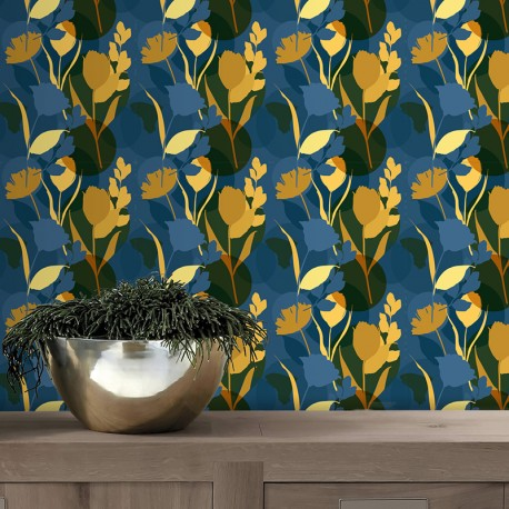 Papier peint adhésif Dianthus