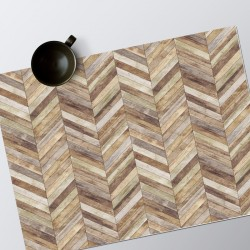 Set de table Planches Chevrons