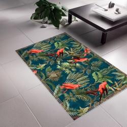 Tapis Vinyle Flore Tropicale