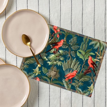 Set de table Flore Tropicale