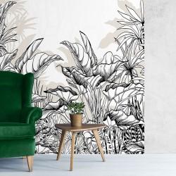 Papier peint adhésif panoramique Amazonie