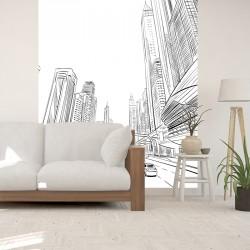 Papier peint adhésif panoramique Dubaï
