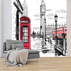 Papier peint adhésif panoramique Great Georges Street