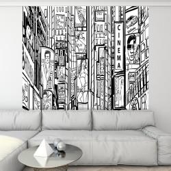 Papier peint adhésif panoramique New York Street