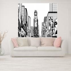 Papier peint adhésif panoramique Times Square