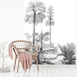 Papier peint adhésif panoramique Trollskog