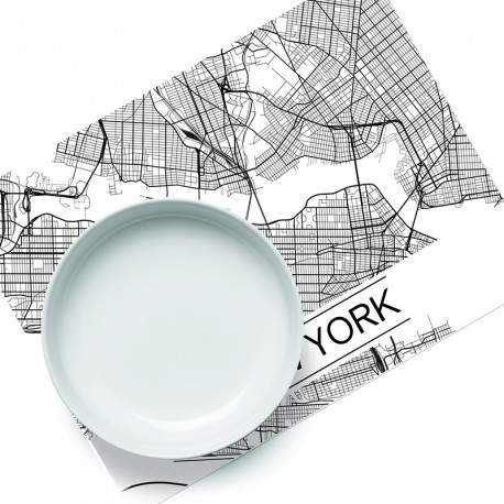 Set de table City Map