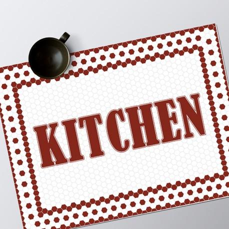 Set de table Kitchen