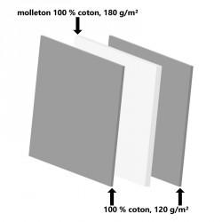 Masque barrière tissu triple épaisseur coton