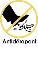 Tapis vinyle antidérapant