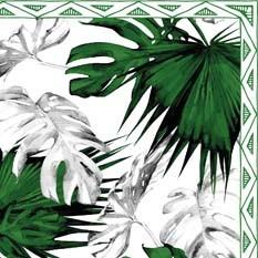Barbade Noir Blanc & Vert