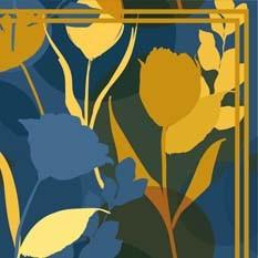 Dianthus Bleu Canard & Moutarde