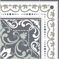 Céleste Kaki nuance de gris