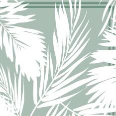 Cuba Fond Vert Pastel