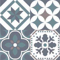 Olga Vert Taupe Sticker